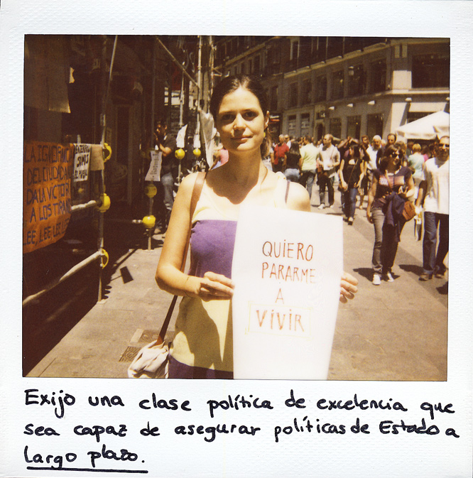 Inés Jordana. 27 años. Técnico en Medio Ambiente.