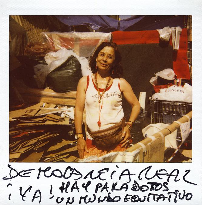 Vicky Urtado. 57 años. Administrativa en una empresa.