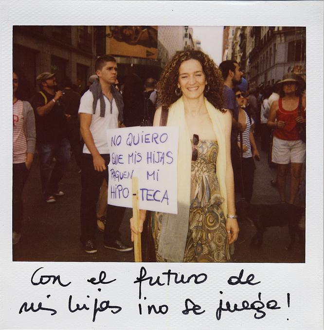 Nuria López. 38 años. Trabajadora social.