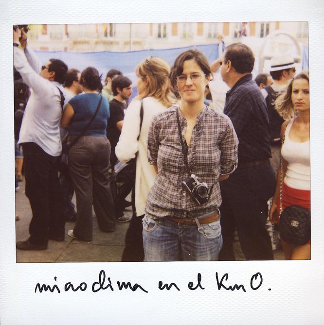 Inma Riero. 32 años. Fotógrafa.