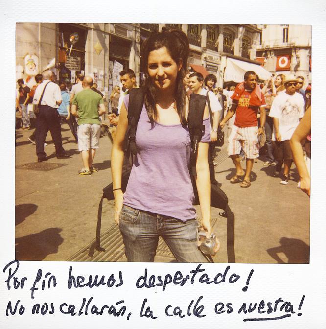 Virginia Martín. 23 años. Estudiante de sociología.
