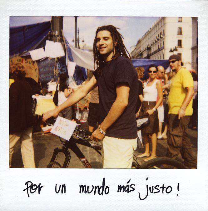 Jorge Salvaçáo. 24 años. Portugués, residente en Madrid. Desempleado.