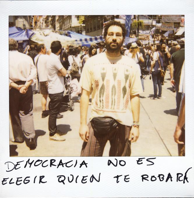 Jesús Mancheño. 26 años. Músico y auxiliar administrativo.