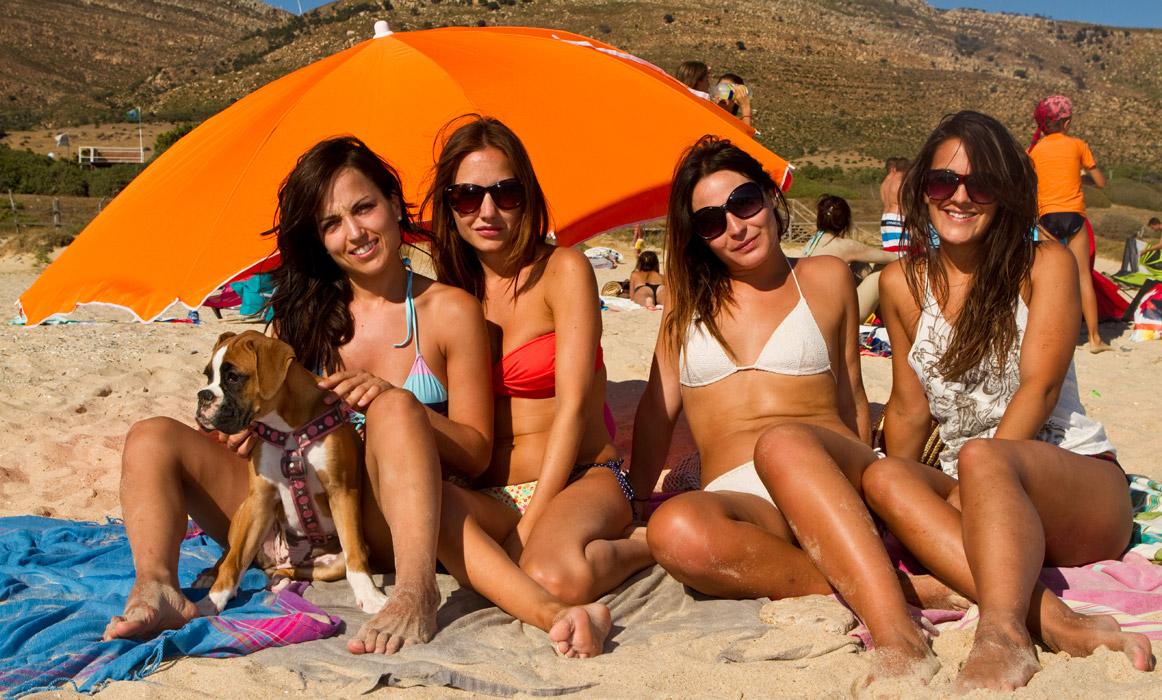 Este grupo de amigas, procedente de Córdoba y de Madrid